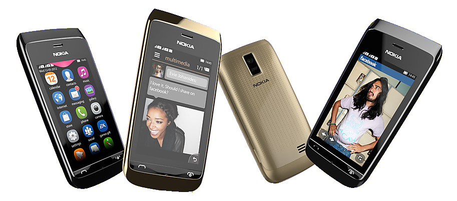 Nokia Asha 308 & Asha 309 Affordable Smartphones Announced Mobiles