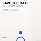HTC September 19th Press Event Announced