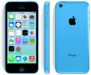 Apple iPhone5c blue