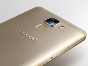 Huawei honor 7 design fingerprint sensor