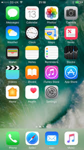 ios 10 home screen