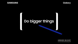 samsung galacy note 8 launch event