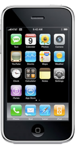 iphone white front