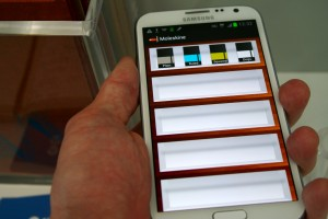 Moleskin App for the Samsung Galaxy Note 2