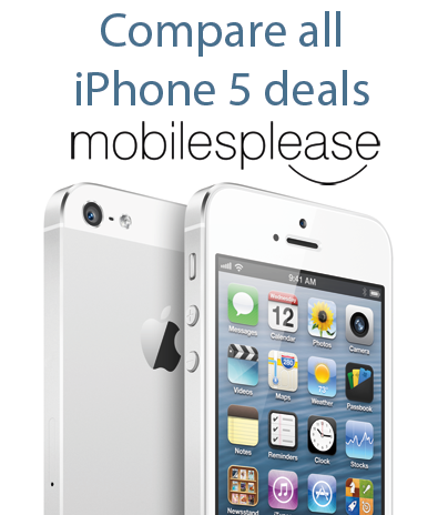 Compare iPhone 5 Deals with Mobilesplease