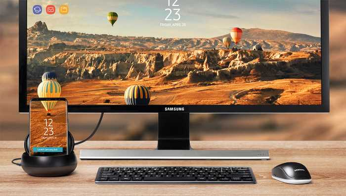 Leave your computer behind with Samsung DeX
